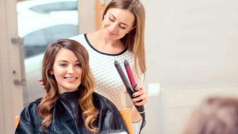The joys of a hair salon