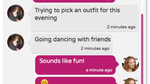 Chat with Friends on Crossdresser Heaven