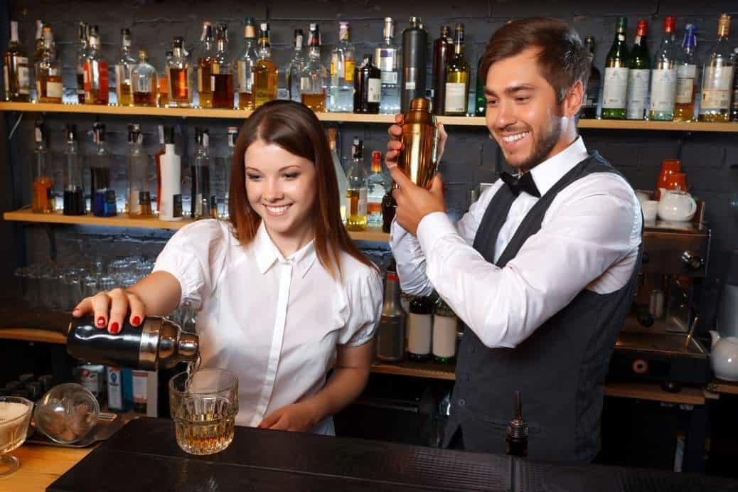 Crossdressing in a bar