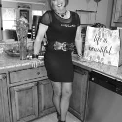 Really Liked This Bebe Little Black Dress So Had To Show It In Black and White Too!