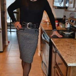 Alrighty Girls, This Is My First Pencil Skirt Of The Year!