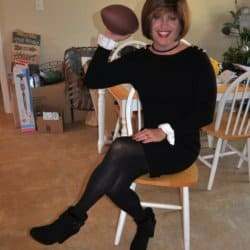 Fall, Football, and Long Sleeved Dresses Are Totally Awesome!