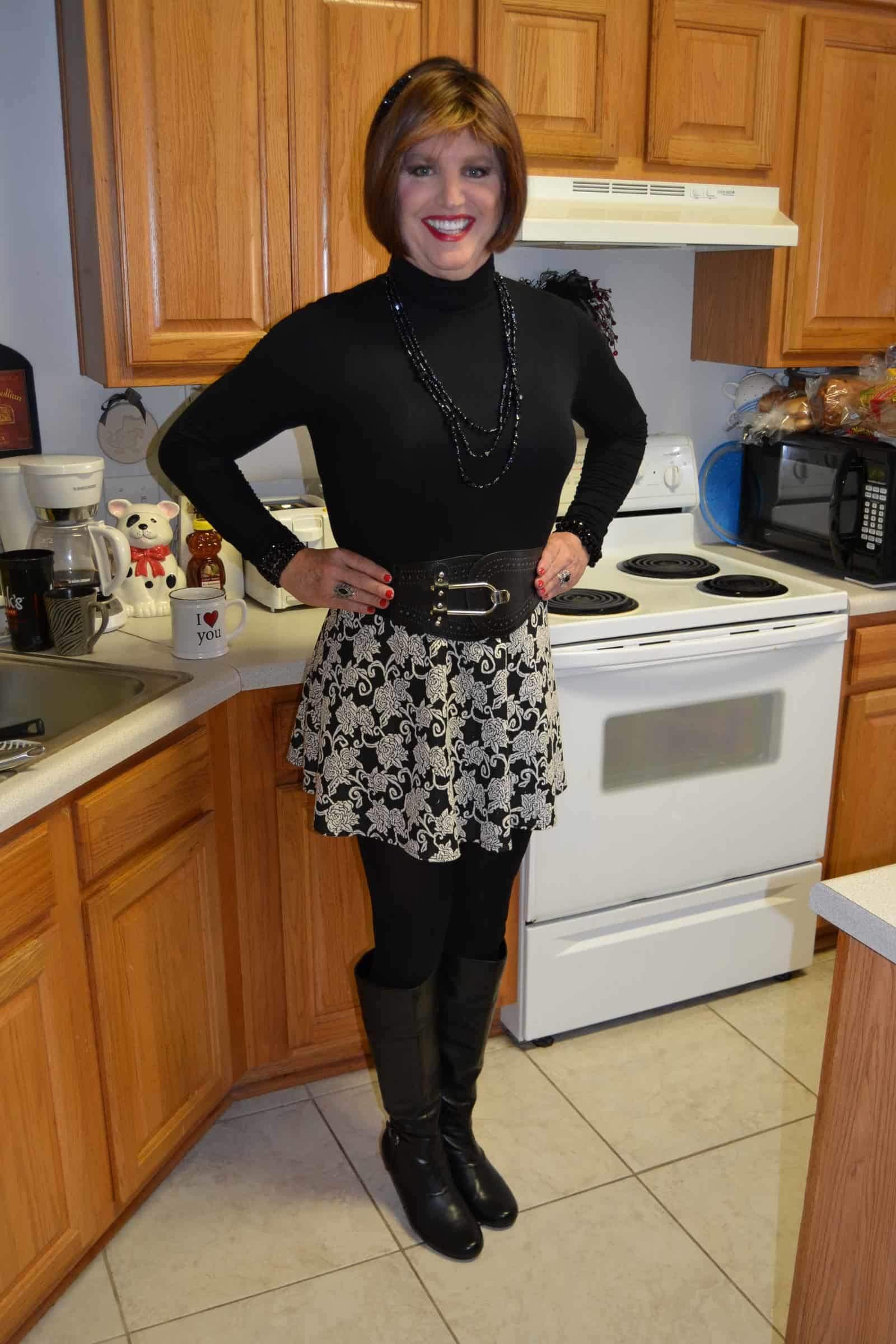 I Just Love Skater Skirts And Boots Crossdresser Heaven