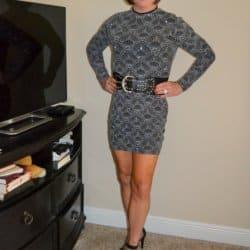 Who loves tight, short, long sleeved dresses?