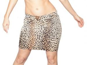 Cheetah Print Mini Skirt