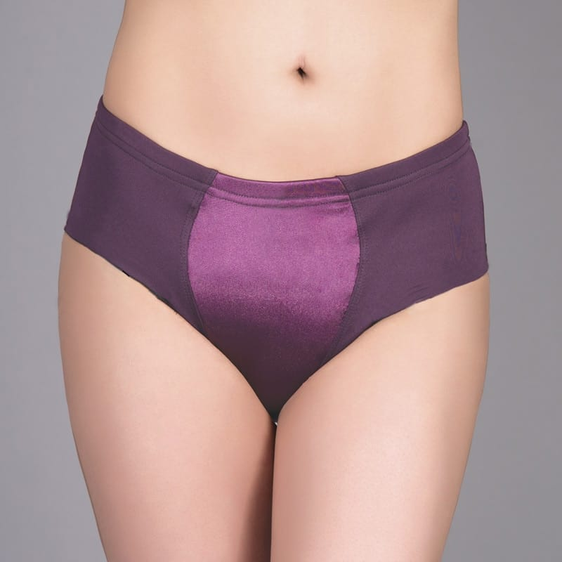 Max Smooth Everyday Briefer Gaff In Plum