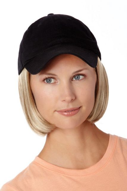 HM Hats With Hair Short Style